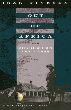Danish writer Karen Blixen aka Isak Dinesen, author of Out of Africa (1937) and Shadows on the Grass (1961) was born today in 1885.